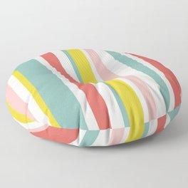 Candy Stripe Pattern Floor Pillow