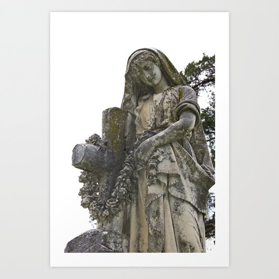 Blessed Virgin Mary Art Print