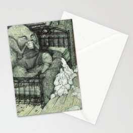 Musical Box Stationery Cards