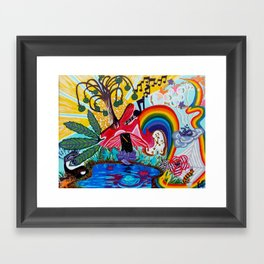 Life Could be a Dream Framed Art Print