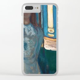 Edvard Munch - Summer Night. The Voice Clear iPhone Case