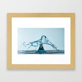 Water Drop 1 Framed Art Print