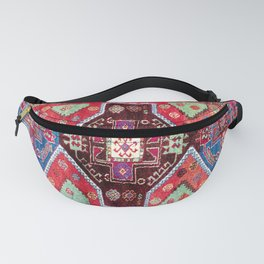 Malatya  Antique Turkish Rug Print Fanny Pack