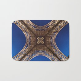 Eiffel Tower From Below Bath Mat