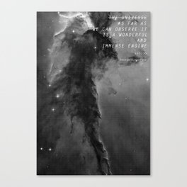 The Universe... Canvas Print