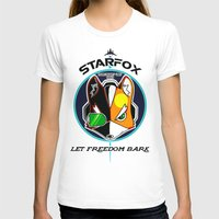 starfox T-shirts featuring Mercernary Unit: STAR FOX by RuiShi