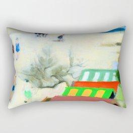 Clarice Beckett Sandringham Beach Rectangular Pillow