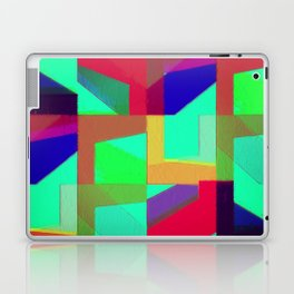 Colorful Truth. Green. Laptop & iPad Skin