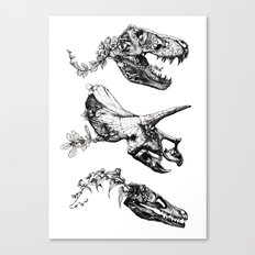 Jurassic Bloom. Canvas Print