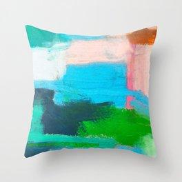 Pacific Ocean, No. 1 Throw Pillow