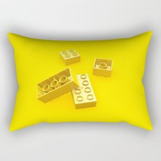 Duplo Yellow Rectangular Pillow