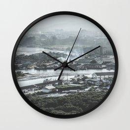 Fisherman Village Wall Clock