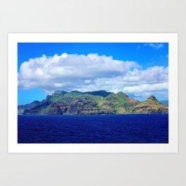 Kauai's Bright Welcome Art Print
