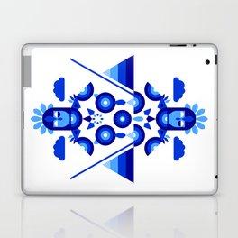Libra in Blue Laptop & iPad Skin