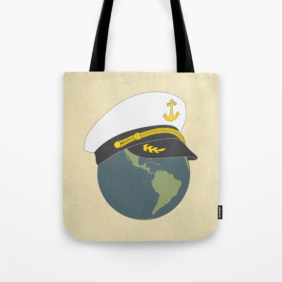 Captain Planet Tote Bag