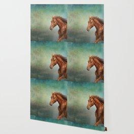 Drawing portrait horse Wallpaper