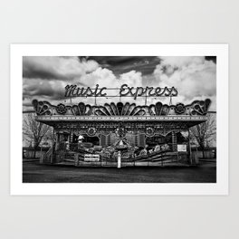 Music Express Art Print