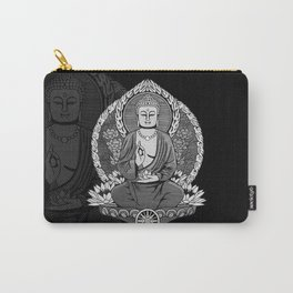 Gautama Buddha - Monotone Carry-All Pouch