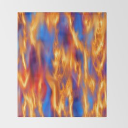 Torched Throw Blanket