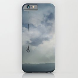 falling memories iPhone Case