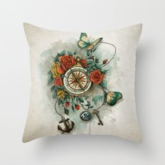 to guide you home Throw Pillow