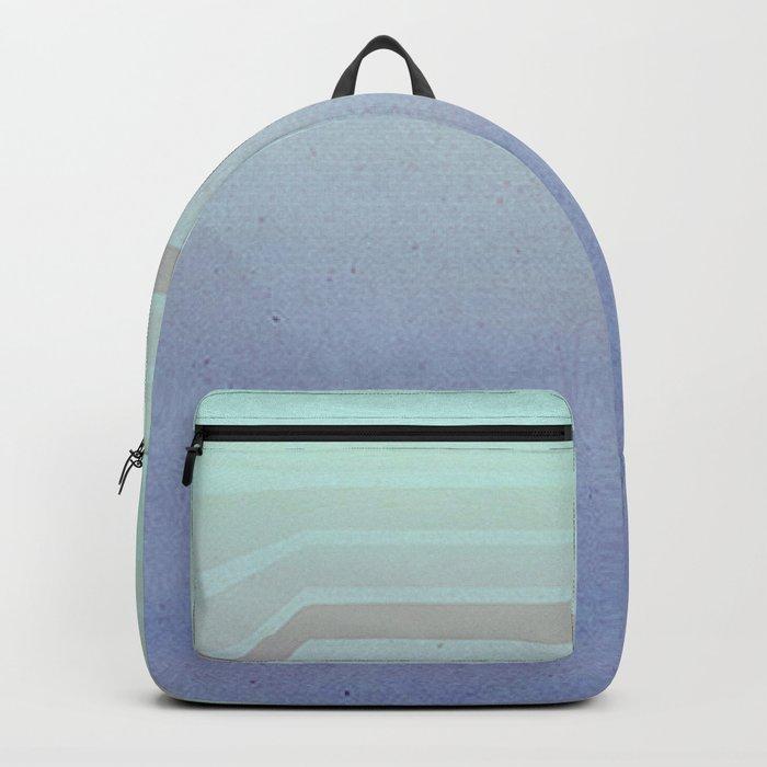 Horizontal flight (Blue edition) Backpack