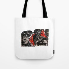 Crow Mouth Tote Bag