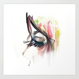 my eyes Art Print