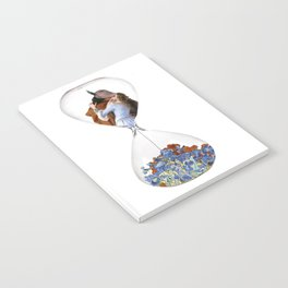 Hourglass of Love (Hayez) Notebook