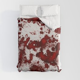 Blood Stains Duvet Cover