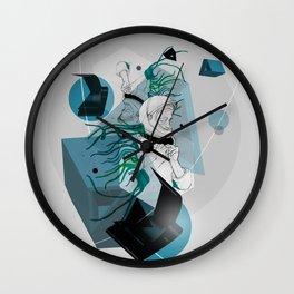 He Spoke On Space Research Wall Clock