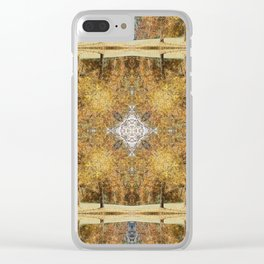 Fall Tres Reflection 3 Clear iPhone Case