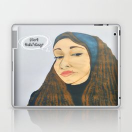 Not tuh'day Laptop & iPad Skin