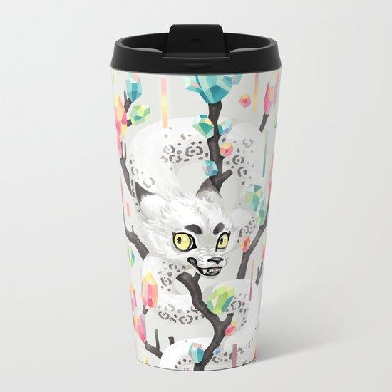 Dragon and His Treasure Metal Travel Mug