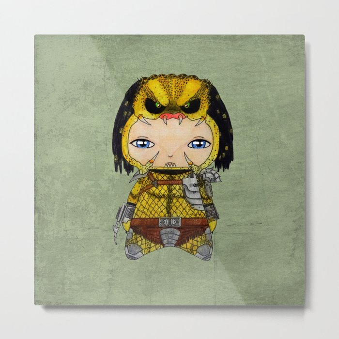 A Boy - Predator Metal Print