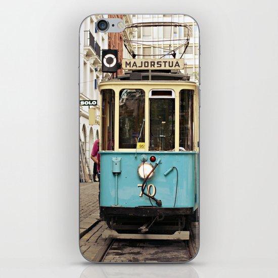 the tram iPhone & iPod Skin