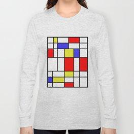 Mondrian #58 Long Sleeve T-shirt