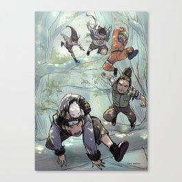 Sasuke recovery squad Canvas Print