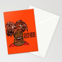 La Reina Celia Cruz Stationery Cards
