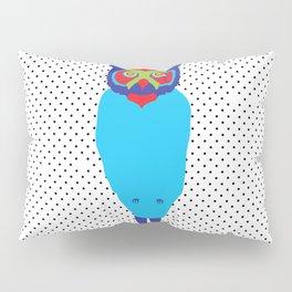 Animal Mardi Gras: Owl Pillow Sham