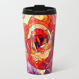 Jeweled Rose Travel Mug