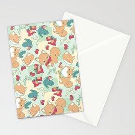 Shiba Birb Picnic Stationery Cards