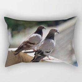 whats up Rectangular Pillow