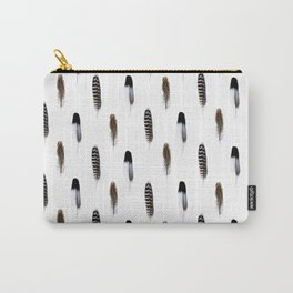 Spirit III Feathers Carry-All Pouch