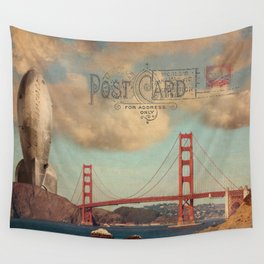 GROUND CONTROL - San Francisco Wall Tapestry