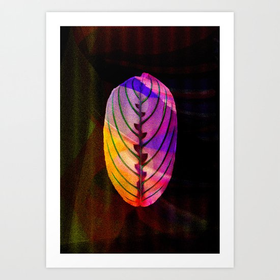 leaf (BLATT) Art Print