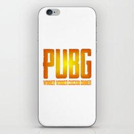 Pubg WWCD iPhone Skin