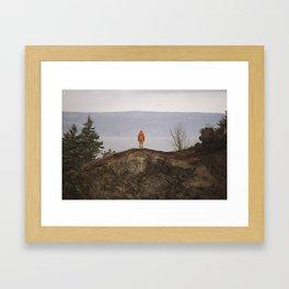 Halibut Cove Framed Art Print