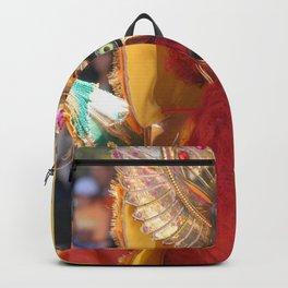 Oruro mask 4 Backpack