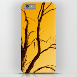 Black Mountain iPhone Case